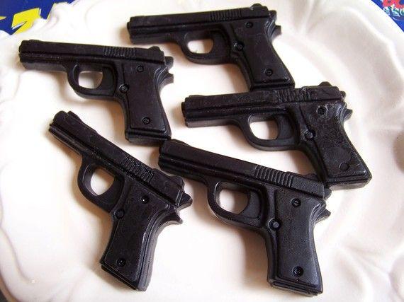 Black Cherry Gun Soap Set by LoveLeeSoaps on Etsy, $5.00