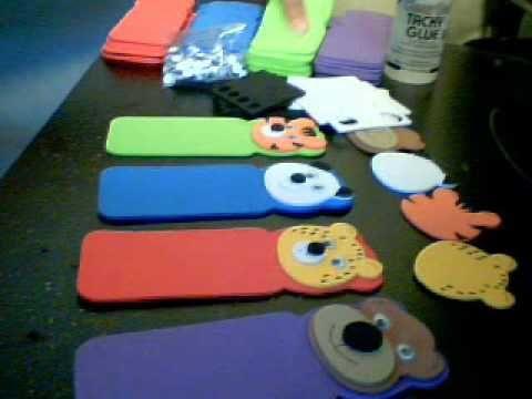 marcadores de espuma para niños | Crafts | Pinterest | Craft