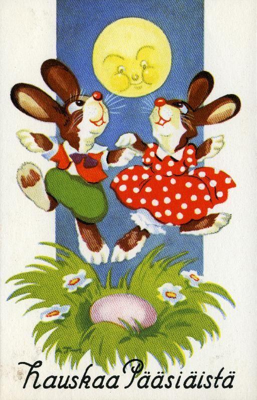 Hauskaa Pääsiäistä! #pääsiäinen #Easter #bunnies #puput