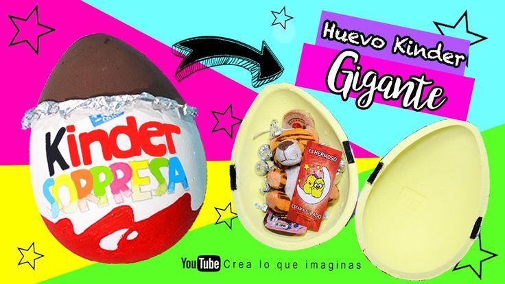 Regala un huevo kinder gigante | Crea lo que imaginas