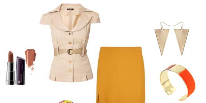 Idée de look Pagnifik - sac jaune doré mSimps - Pagnifik