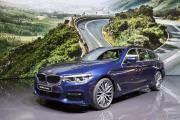 Vom 5er BMW ist jetzt die Kombi-Version Touring serienreif. (Bild: Cyril Zingaro, Keystone)