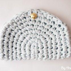Hold クラッチバッグ Shell babyblue|クラッチバッグ|ハンドメイド・手仕事品の販売・購入 Creema(クリーマ)
