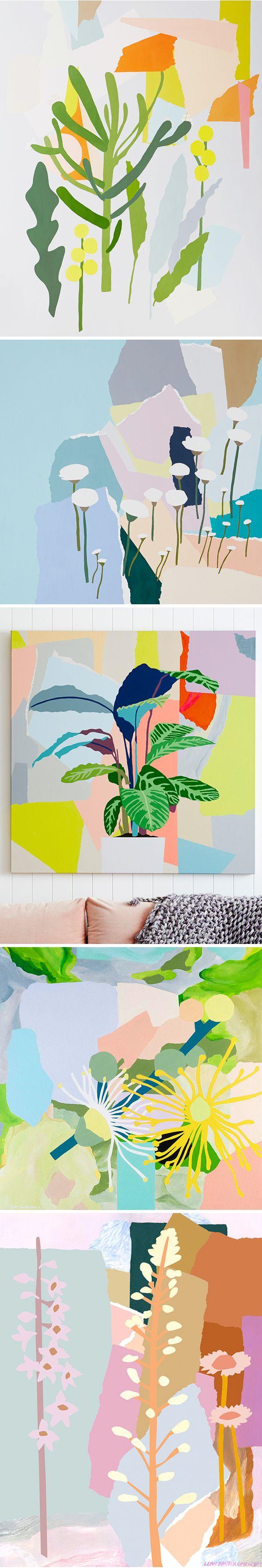 paintings by leah bartholomew