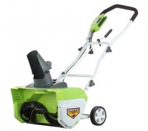 Snow Blower Review : Greenworks 26032 http://egardeningtools.com/product-category/snow-removal/
