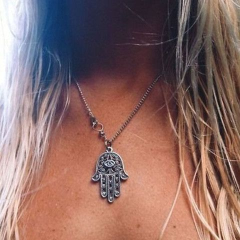 Hamsa Necklace love this!