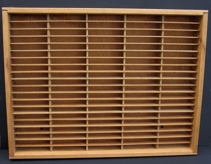 Napa Valley 100 Cassette Tape Holder Rack Shelf Wood