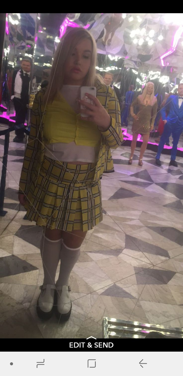Cher Clueless Mac Halloween Cosplay Costume Alicia Silverstone