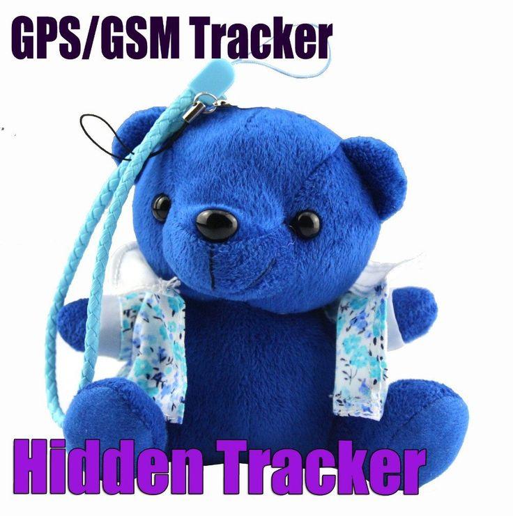 Llavero Oso GPS / GSM / GPRS Personal Tracker Rastreador Oculto y Discreto - GPS Rastreador Infantil tipo Oso llavero - CellsPoint - 2