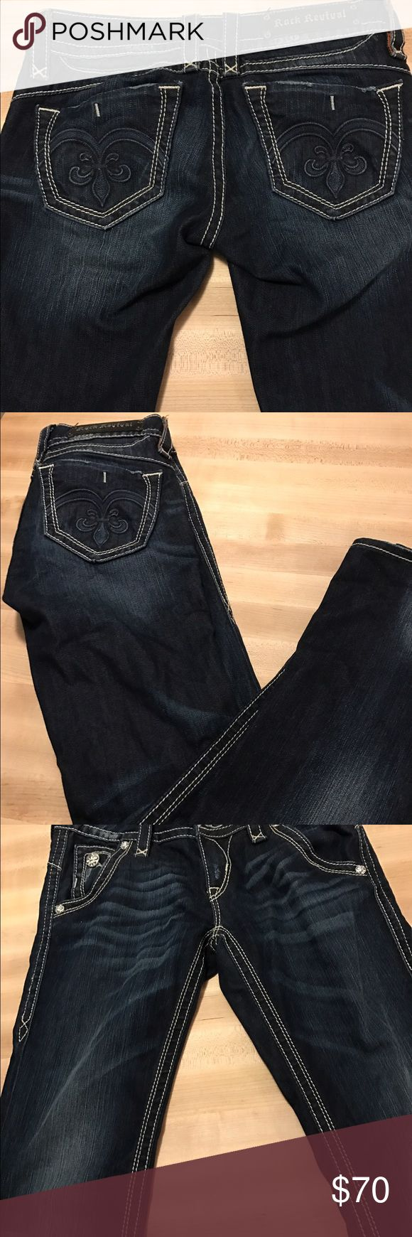 Rock Revival Jeans Size 29 inseam 33 new without tags. Rock Revival Jeans