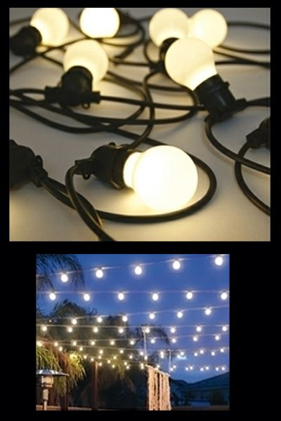 Create your own mediterenean terrace with the Bella Vista festoon lighting These lights are perfect for use in the garden or on a terrace Please note