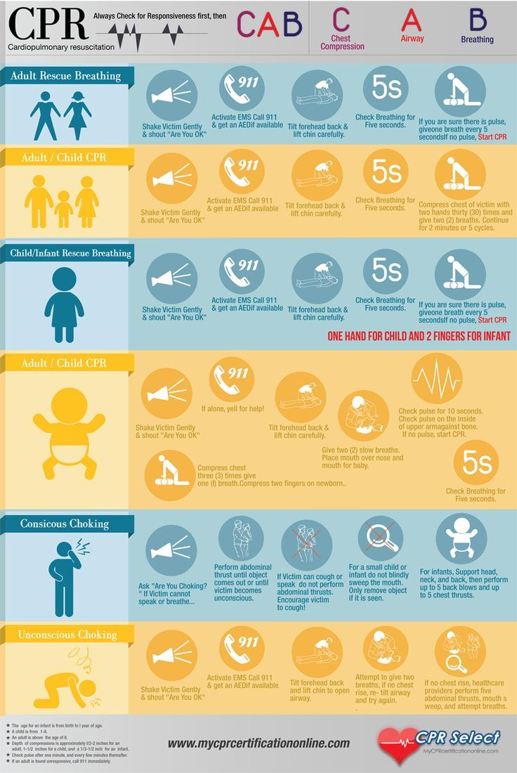 20 best cpr certification images on pinterest health career and cpr infographic i think i will print this and tape it to the inside of xflitez Choice Image