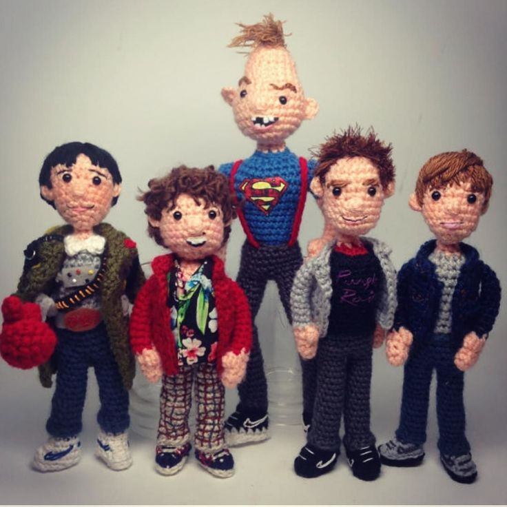 Hey you guys! 31 years ago this very day June 7 #thegoonies was released! Pattern link in profile! #slickshoes #truffleshuffle #gooniesneversaydie #goonies #crochet #amigurumi #craftyiscool
