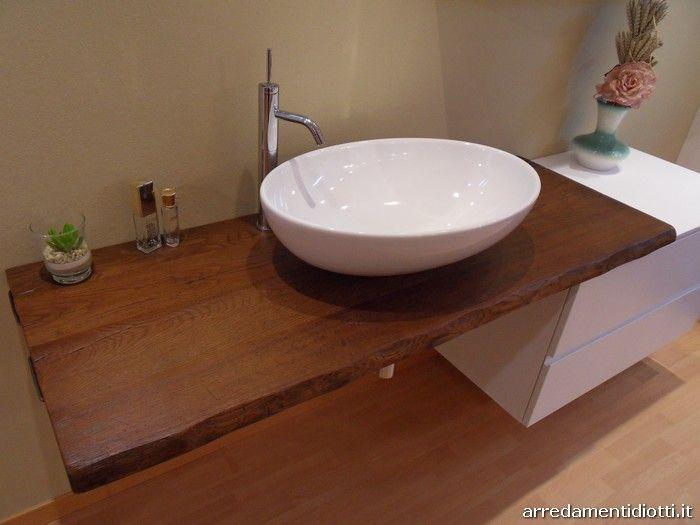 Oltre 25 fantastiche idee su bagno di rovere su pinterest - Top bagno legno massello ...