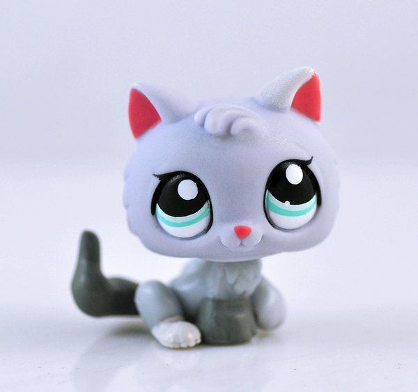 Littlest Pet Shop Cat Kitty Collection Child Girl Figure Cute Toy Loose LPS661