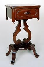 Lillian Russell Lyre Night Stand For The Home