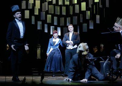 "Scena z inscenizacji opery ""Złote runo"" Aleksandra Tansmana"