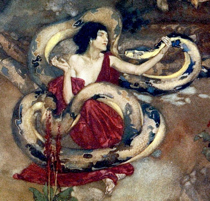 "How the Argonauts sailed to Colchis (detail). From ""The Heroes ..."" (1912) illustrated by William Russell Flint"
