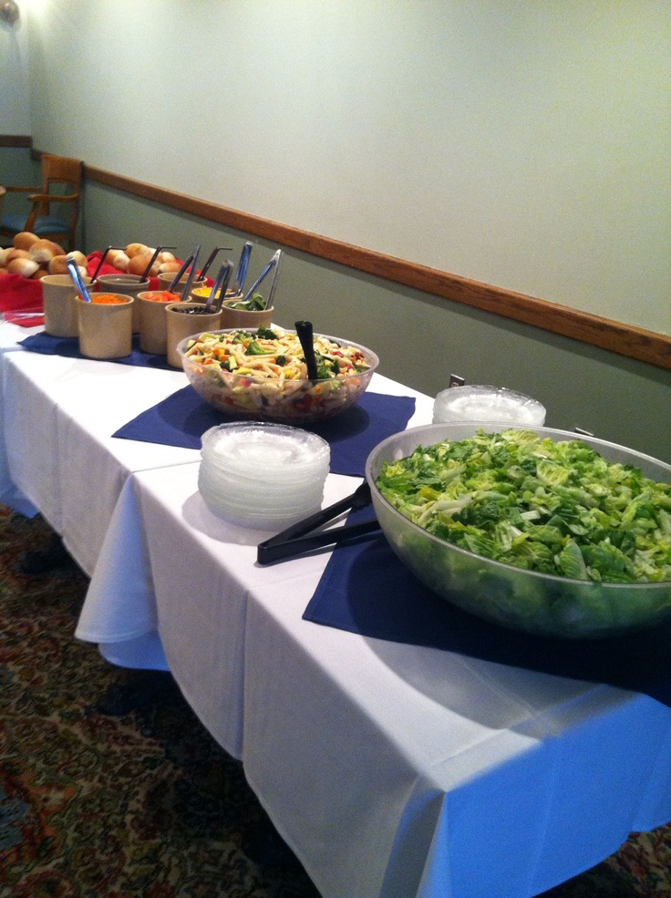 17 best images about catering buffet ideas on pinterest for Table buffet