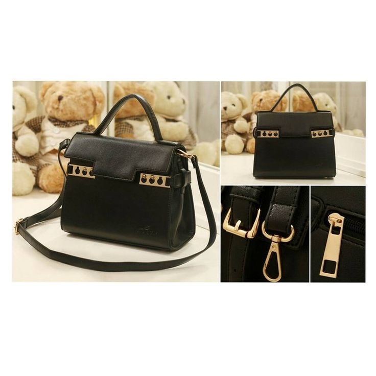 RBA1999  Colour Black  Material PU  Size L 25.5 W 11 H 16.5  Weight 0.7  Price Rp 195,000