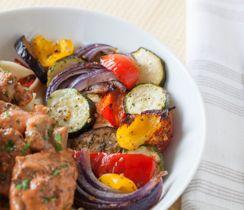 Herb & Garlic Roasted Vegetables