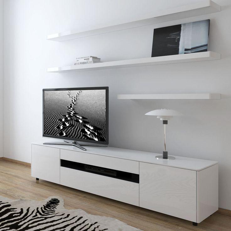 Delightful Cityside Furniture   TAYLOR Wall Composition 403 White Gloss, $2,476.00  (http://. Entertainment UnitsTv ...
