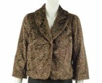 INC International Concepts Faux Fur Jacket