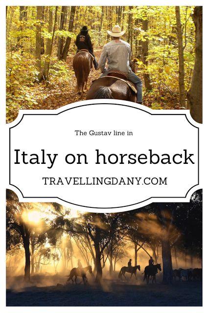 Equestrian tourism | The Gustav Line in Italy on horseback