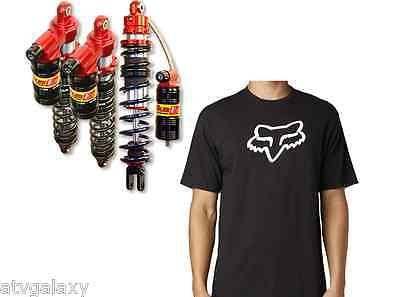 Elka Stage 3 Front Rear Shocks Suspension Kit Yamaha Banshee 350 Free Fox Shirt #atv #parts #brakes #suspension #shocks #swingarms #elka10749