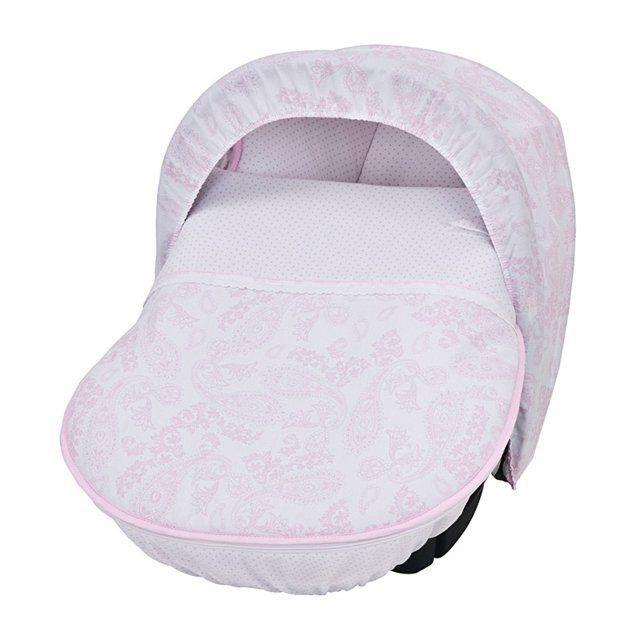 Saco para maxicosi en color rosa de la colección Ivory.