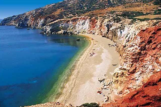 Paliochori beach, Milos, Greece- My First Born Came from Here