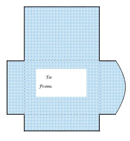 265 best Printables images on Pinterest Printables, Bricolage - Gift Card Envelope Template