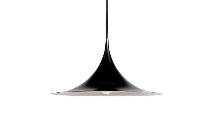 Gubi's iconic Semi pendant, designed by Claus Bonderup and Torsten Thorup in 1968, is as stylish now as it was 50 years ago