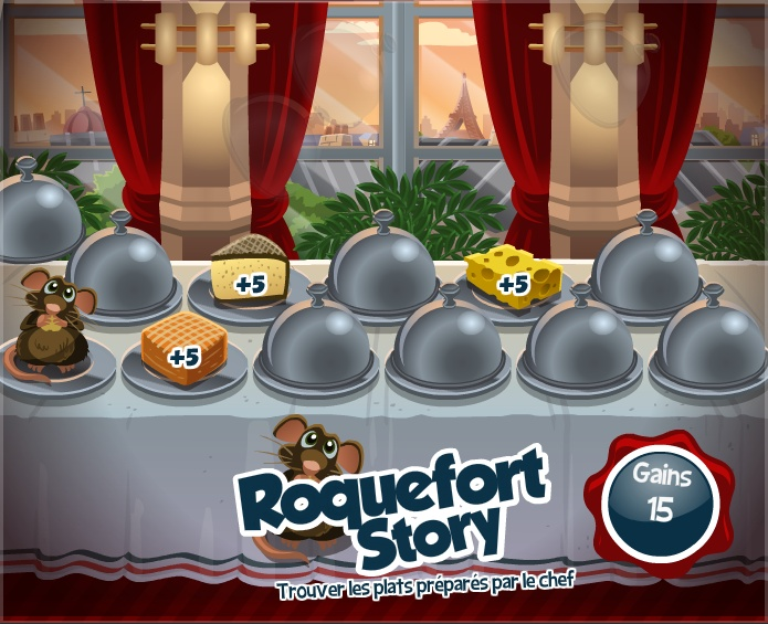 Mini-game Roquefort Story - La Riviera