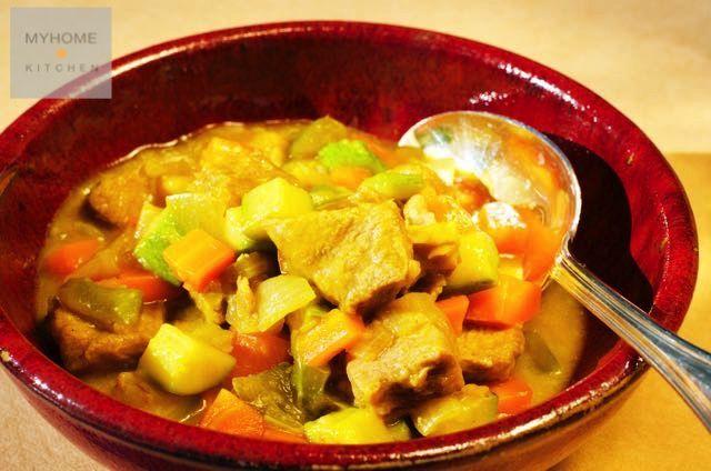 Spezzatino di agnello con verdure allo zenzero www.myhome.kitchen #passionfood #ricette #recipes #recetas