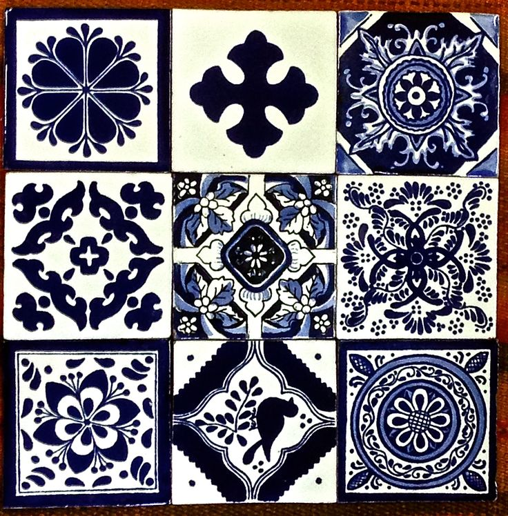 Blue and white sampler to spark your creativity!