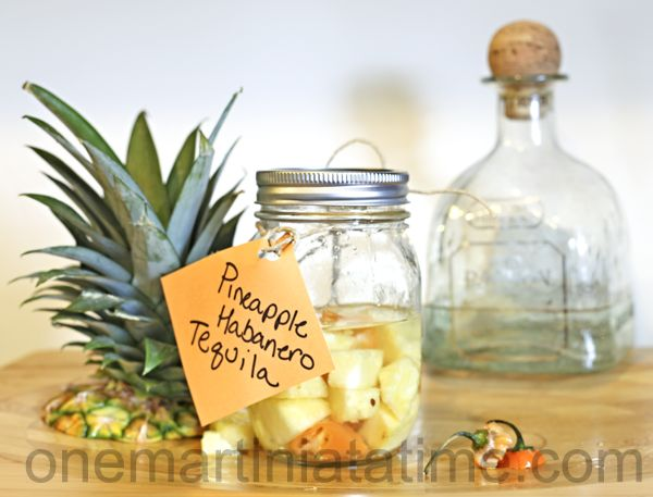 infused tequila -- I'll actually be making pineapple coconut infused ...