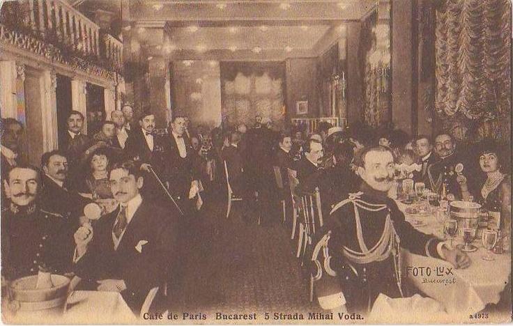 BUCURESTI - CAFE DE PARIS - antebelica