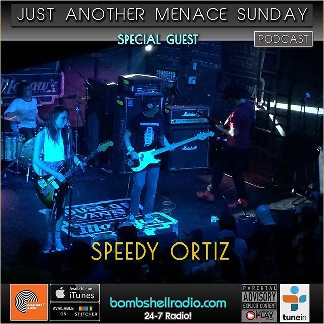 "The Menace's Attic/Just Another Menace Sunday  11am-1pm EST 8am-11am PDT 4pm-6pm BST Bombshell Radio bombshellradio.com Bombshell Radio. #interview Speedy Ortiz  #melodicrock #radioshow #rock #alternative #TuneInRadio #SpeedyOrtiz  Bombshell Radio airs this week's ""Just Another Menace Sunday"" radio thing in full stereo sound!  www.bombshellradio.com to listen. Hour  Hour 1: A Conversation with Speedy Ortiz and their Musical Sandwich. Hour 2: New Melodic Rock & Roll from: Belly Father John…"