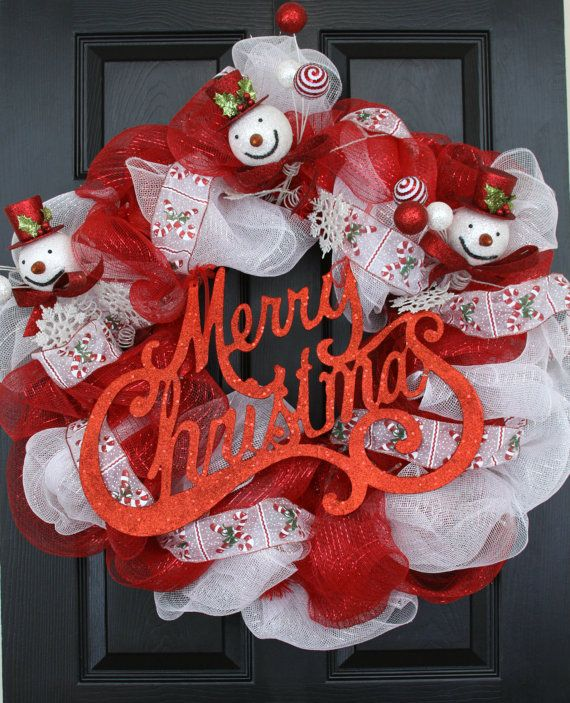 40 best Battery Operated Christmas Wreath images on Pinterest ...