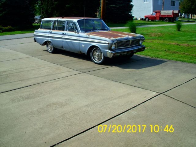 1965 Ford Flacon Station Wagon for sale: photos, technical specifications, description
