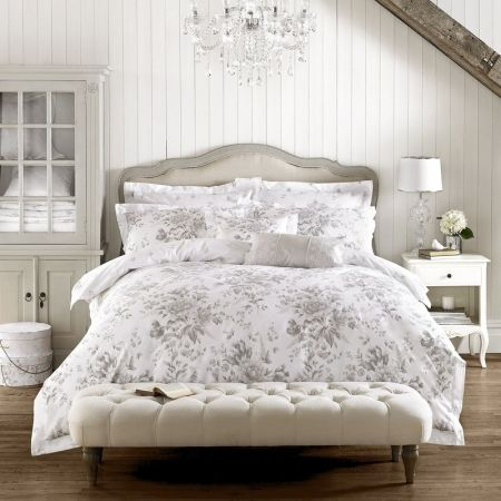 Holly Willoughby Ruby Bedding - Grey