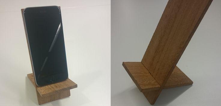 Simpele telefoon of tablet houder maken