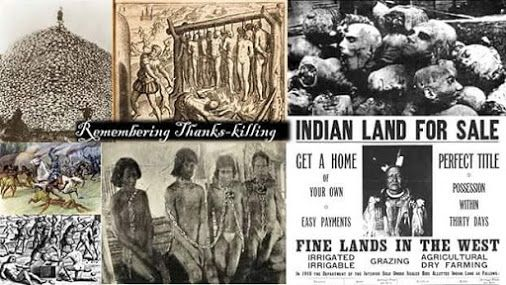 #God #Thanksgiving #America #holiday #Israelites #blacks #hispanics #native #american #indians #people #Bible #history #truth #slaughter #massacre #graphic