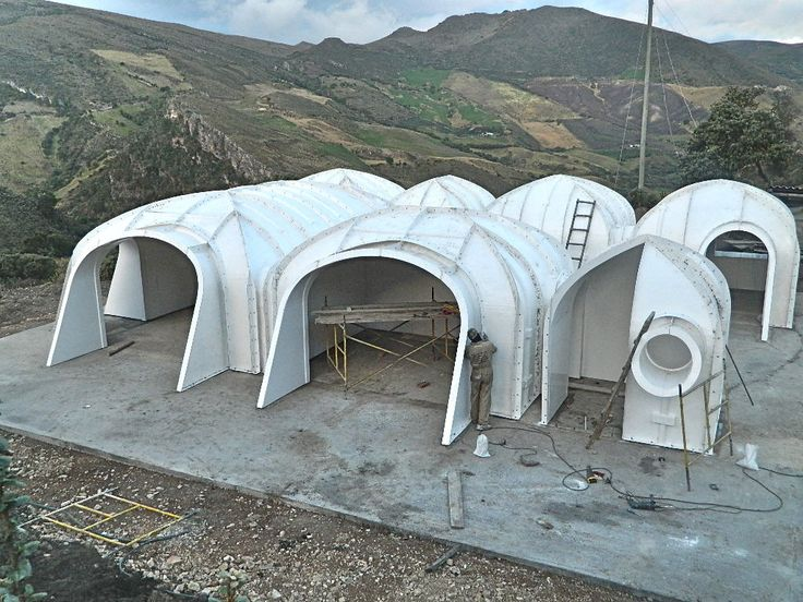 Green magic homes earth sheltered pinterest three for Prefabricated underground homes
