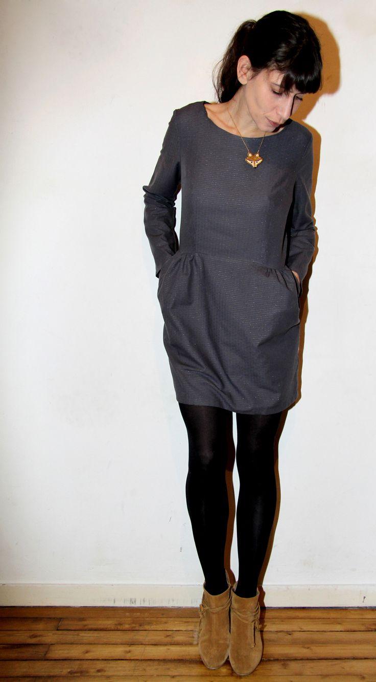 Sigma scintillante // Sigma dress / @papercut patterns // Jolies bobines