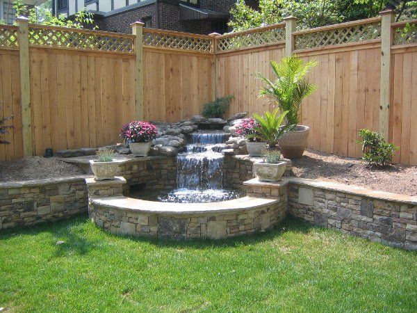 25 best ideas about backyard water feature on pinterest for Garden design features