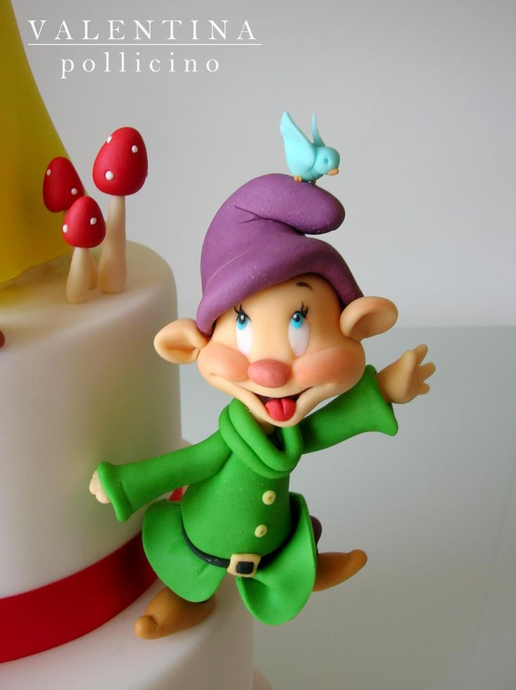 Snow White cake - torta biancaneve