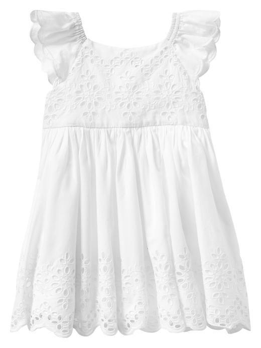 Gap   Paddington Bear™ for babyGap eyelet flutter dress