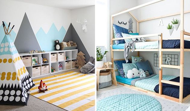25+ melhores ideias de Cama infantil no Pinterest Quartos unissex, Cama de criança de madeira